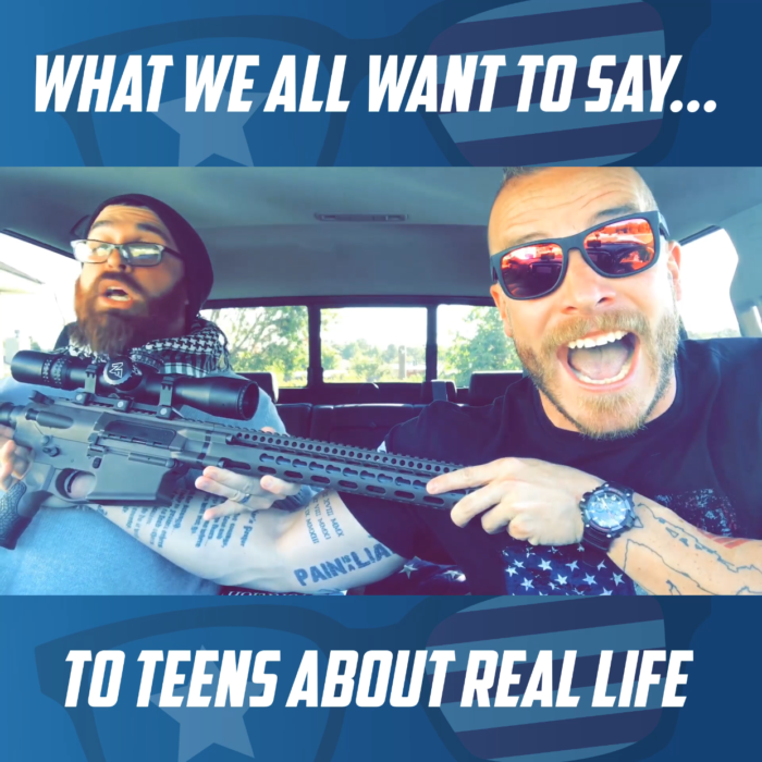 "DAILY RANT…""What we ALL want to say to Teens about REAL LIFE"""